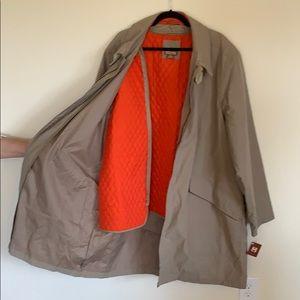 NWT Michael Kors raincoat